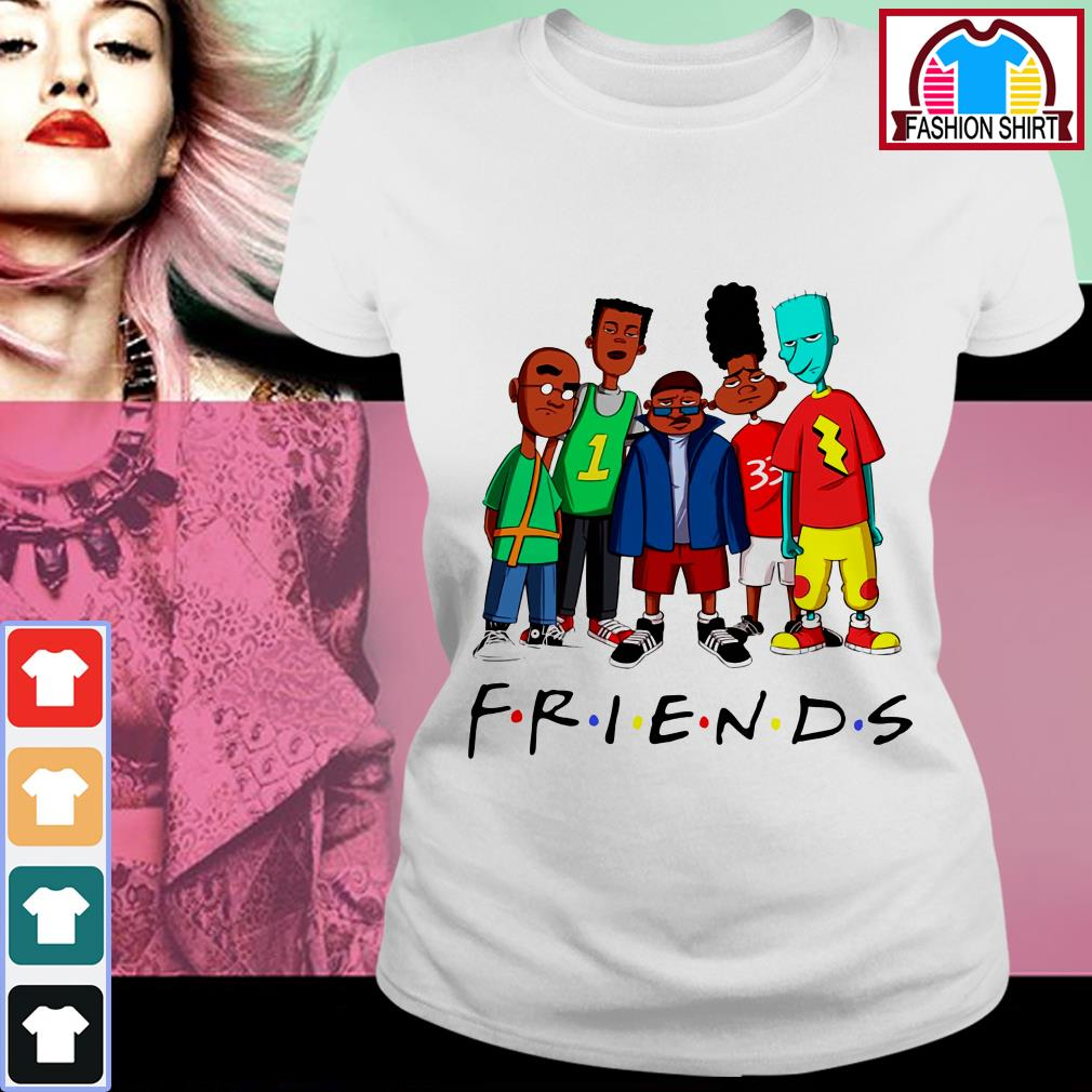 Official We Are Black Friends TV show shirt by tshirtat store Ladies Tee