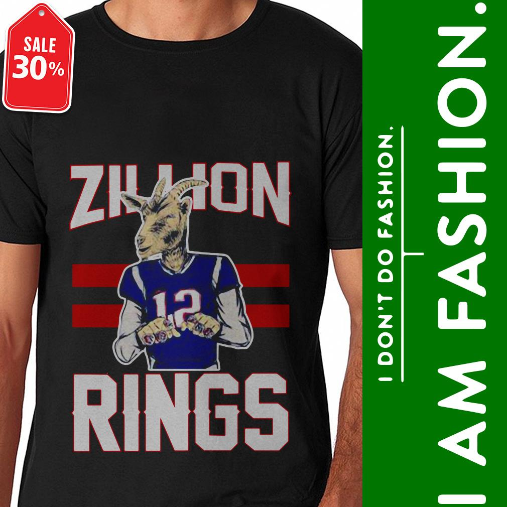 Official Zillion rings 12 shirt by tshirtat store Shirt