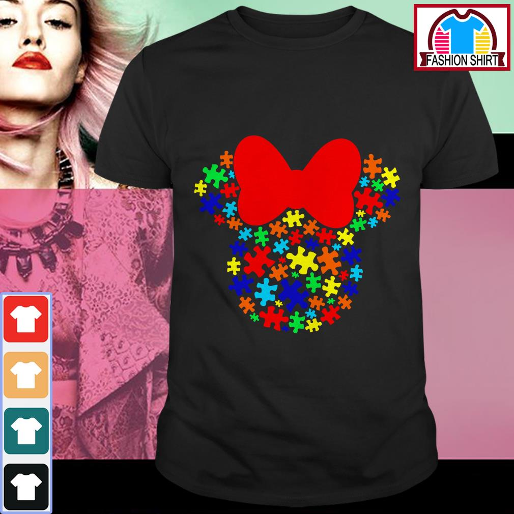 Official Autism Awareness Minnie mouse shirt by tshirtat store Shirt