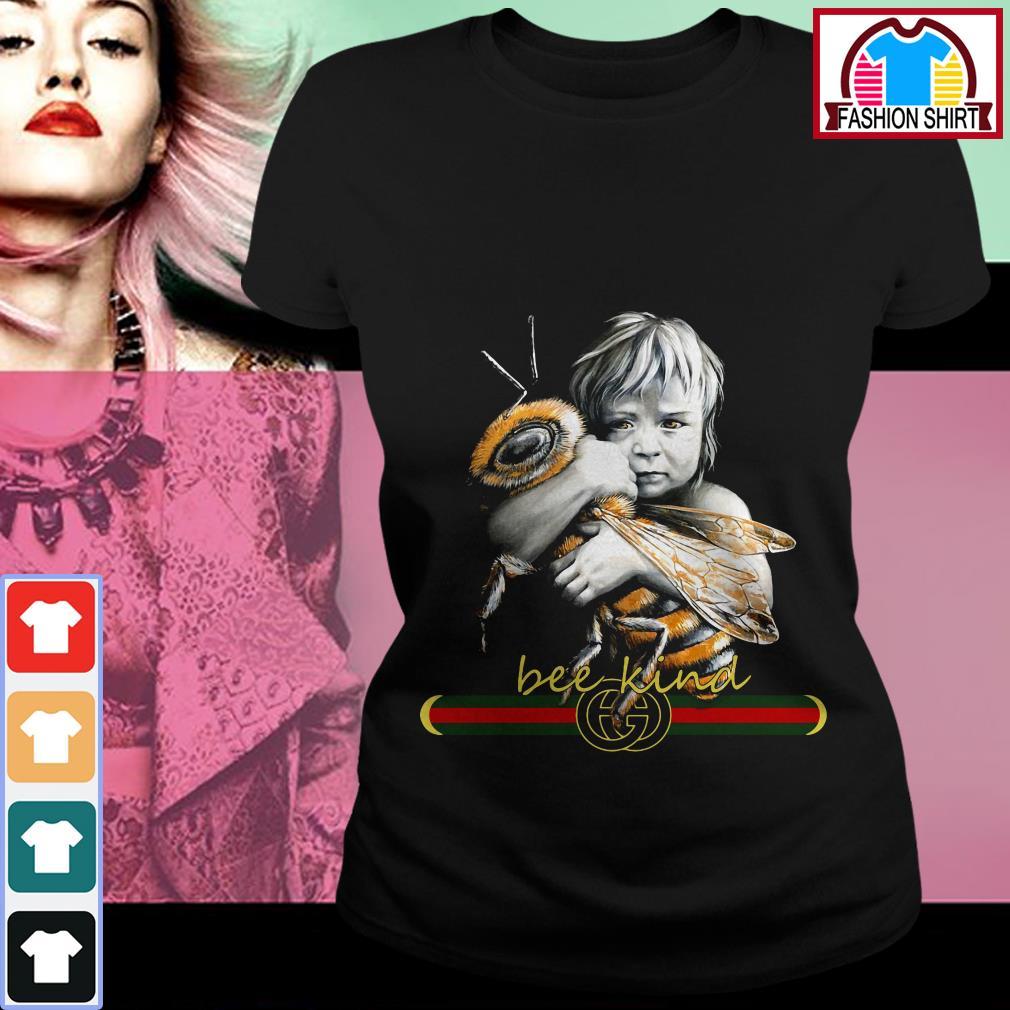 Official Baby hug bee Gucci Bee kind shirt by tshirtat store Ladies Tee
