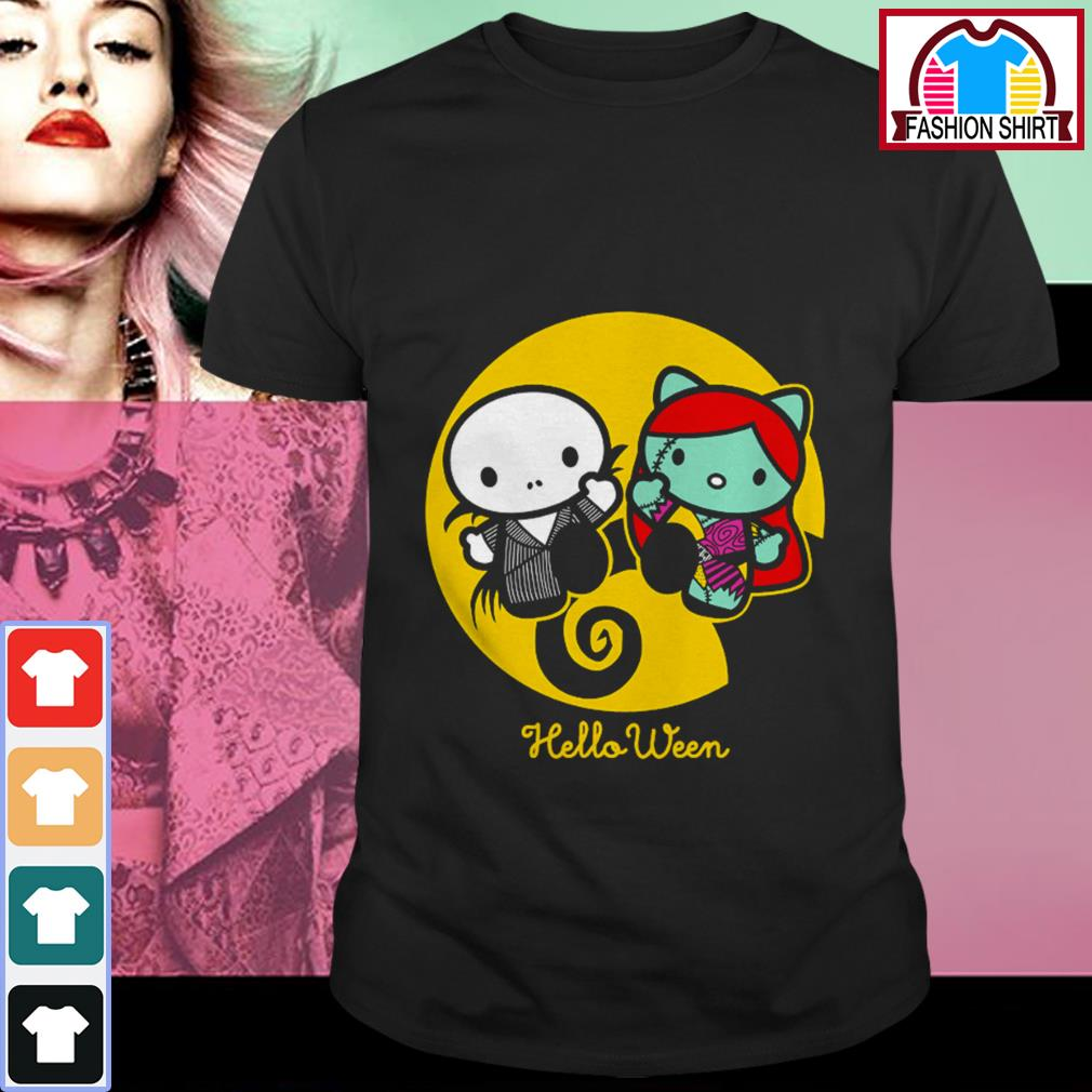 Official Hello Kitty Jack Skellington and Sally helloween shirt by tshirtat store Shirt