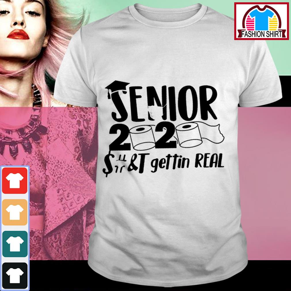 Official Senior 2020 toilet paper class of 2020 shirt by tshirtat store Shirt