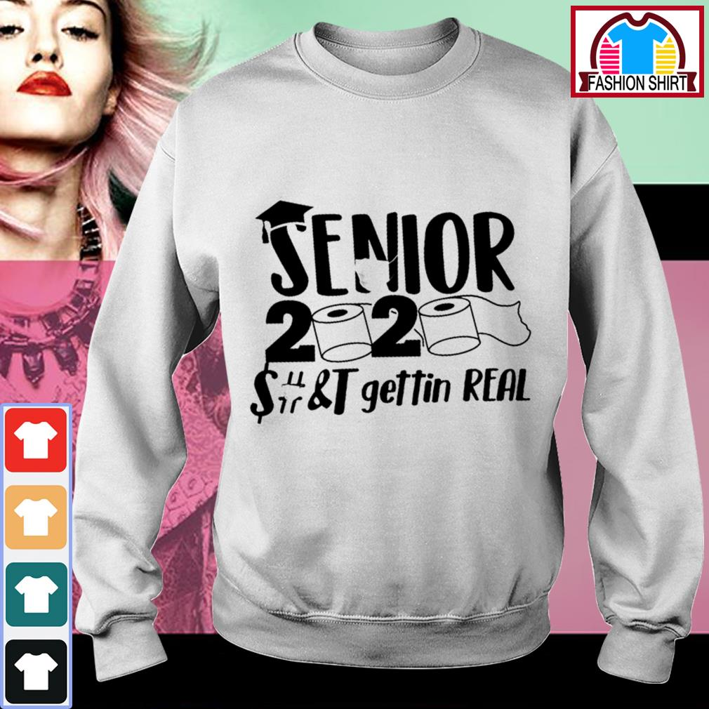 Official Senior 2020 toilet paper class of 2020 shirt by tshirtat store Sweater