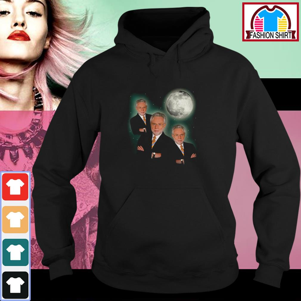 Official Three wolf moon wolf blitzer shirt by tshirtat store Hoodie