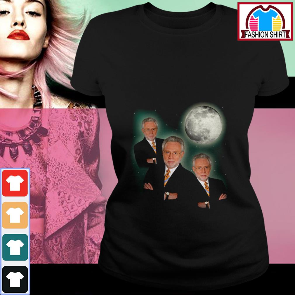 Official Three wolf moon wolf blitzer shirt by tshirtat store Ladies Tee