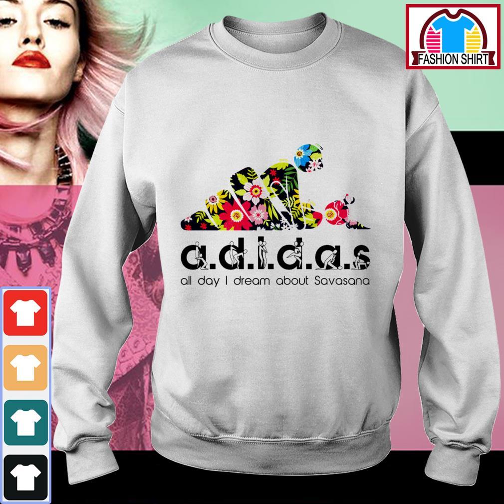 Adidas all day I dream about Savasana Sweater