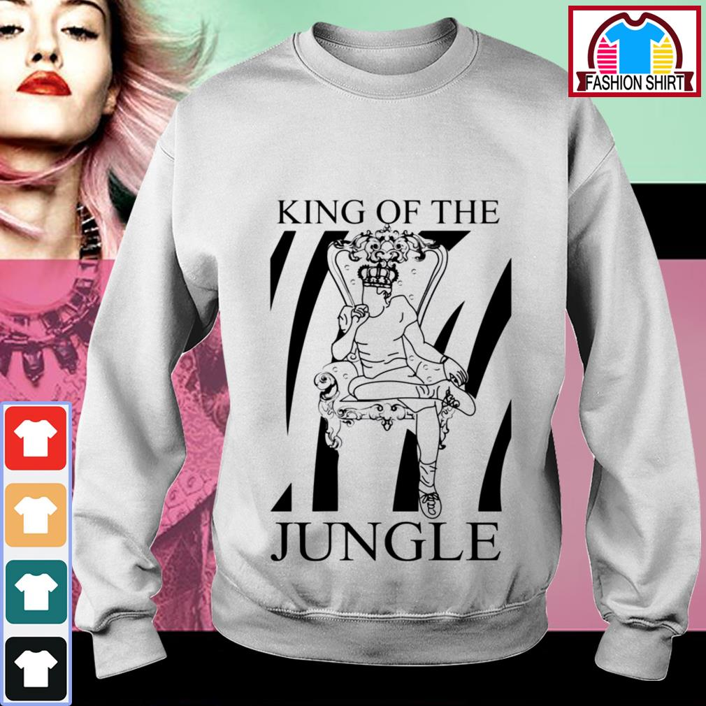 Joe Burrow King of the jungle shirt by tshirtat store Sweater