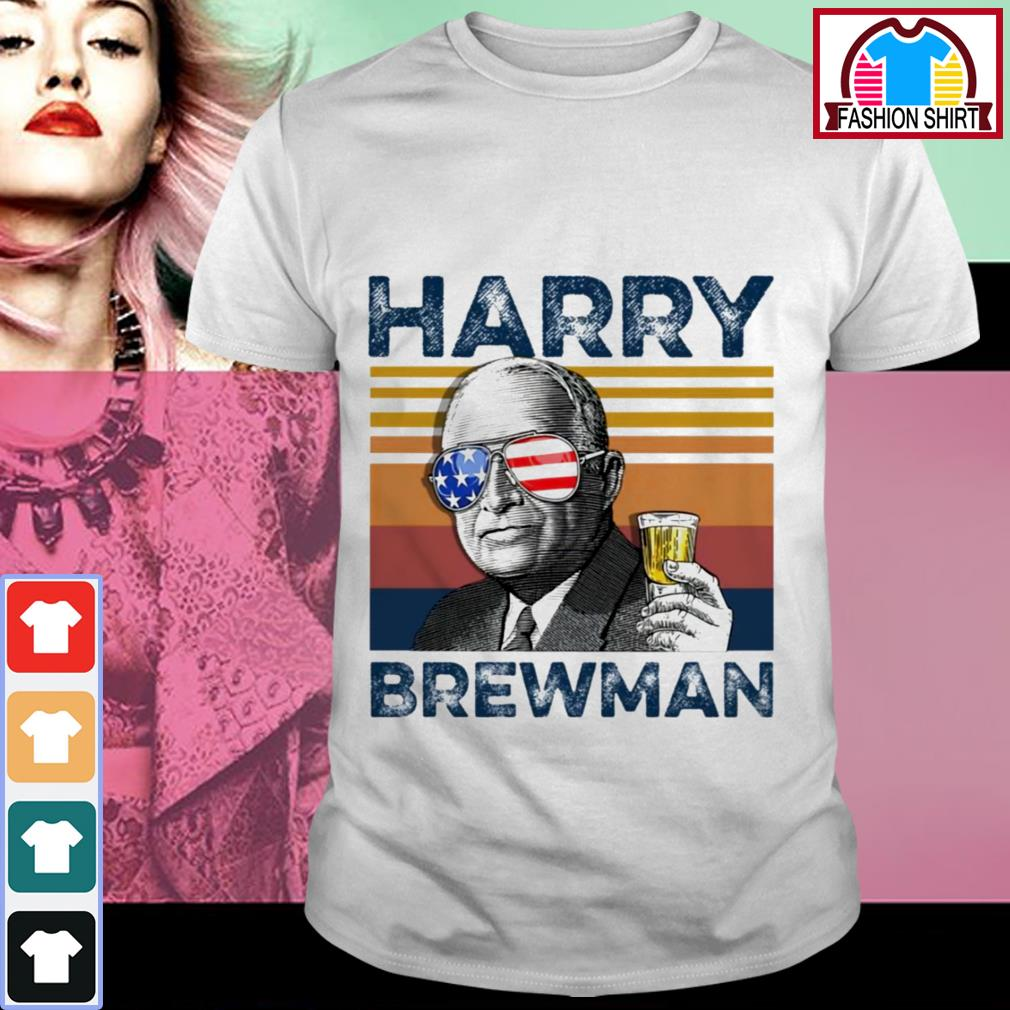 Official 4th of July Harry Brewman vintage shirt by tshirtat store Shirt
