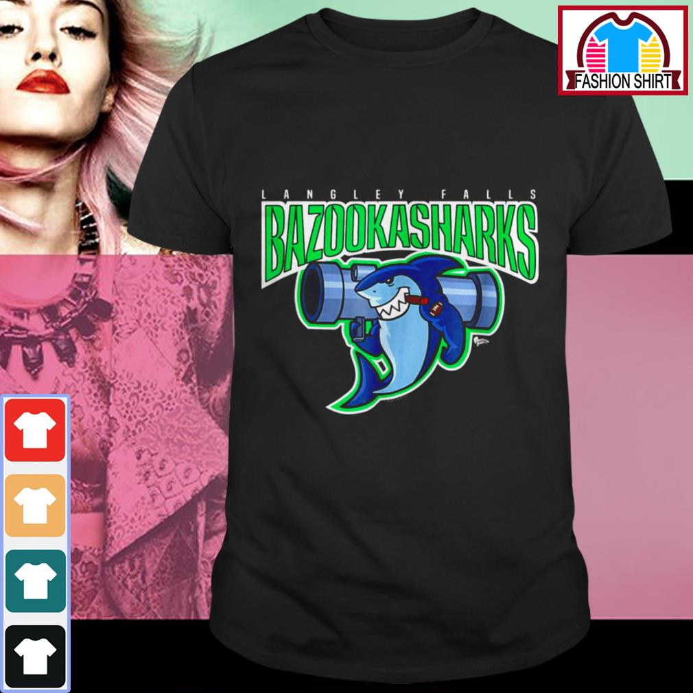 Official American Dad Bazooka Sharks shirt by tshirtat store Shirt