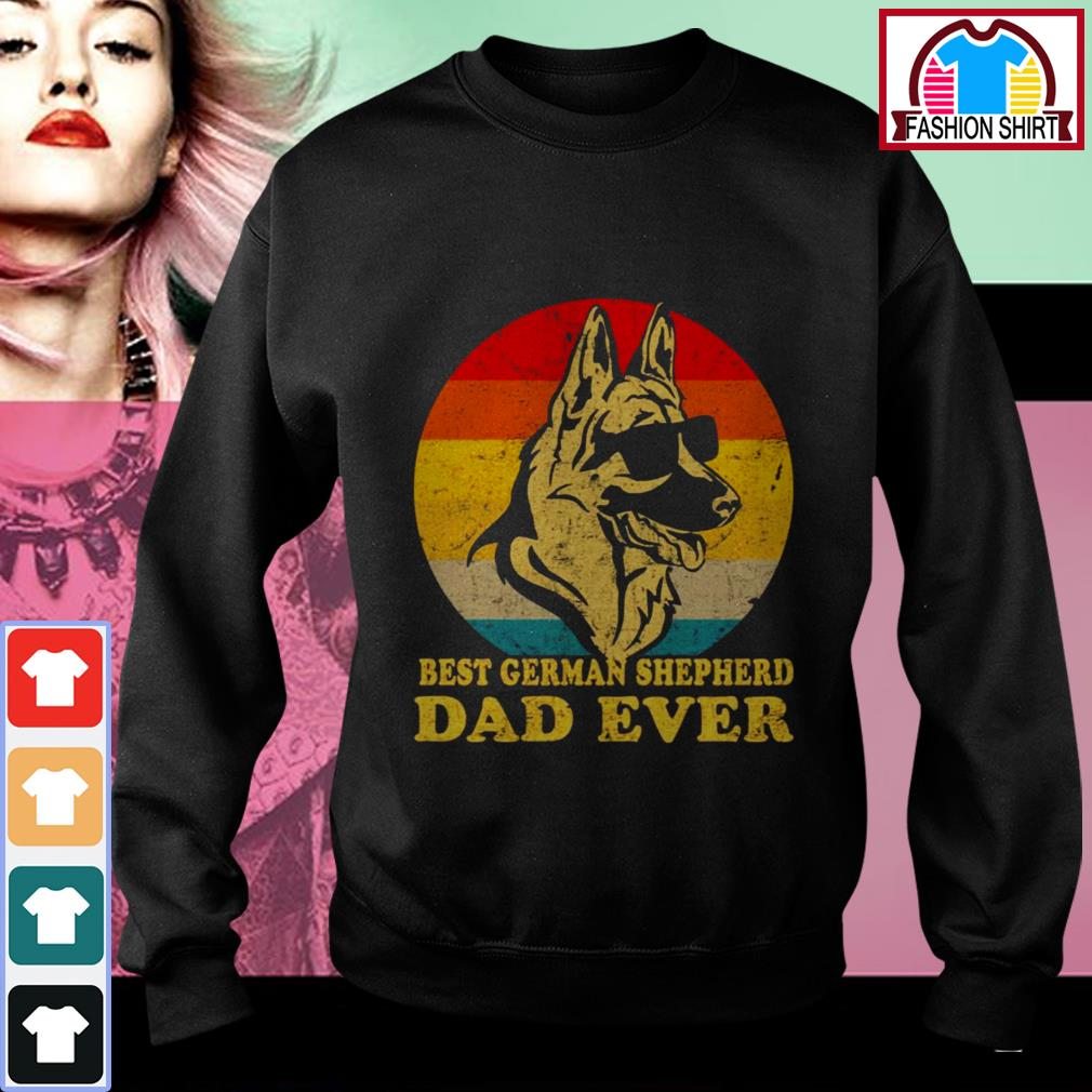 Official Best German Shepherd Dad ever shirt by tshirtat store Sweater