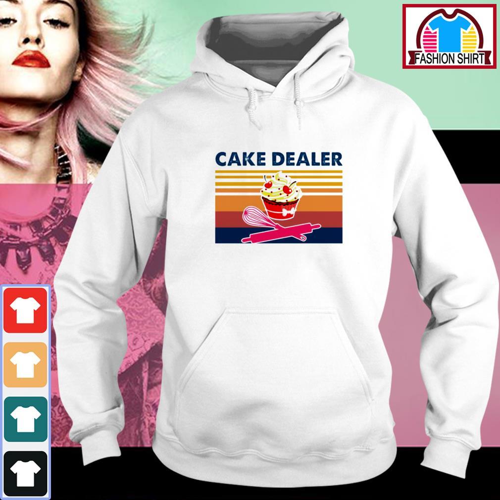 Official Cake dealer vintage shirt by tshirtat store Hoodie