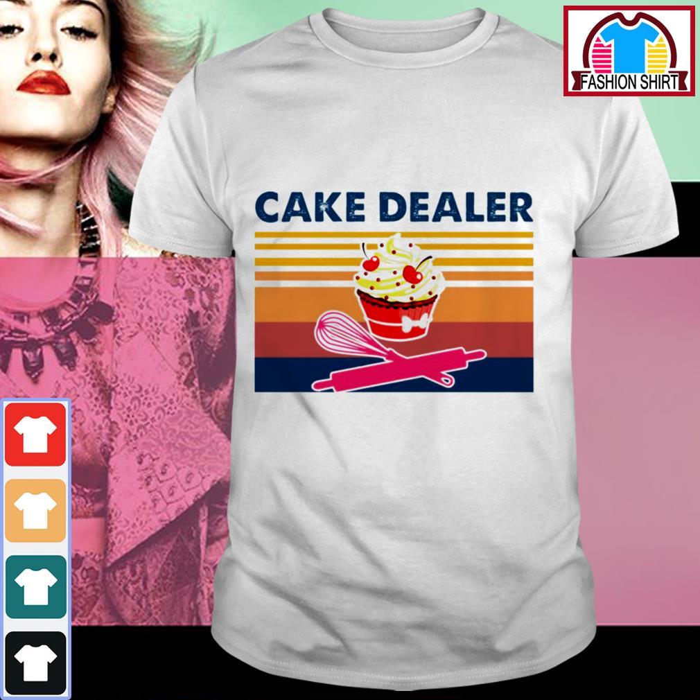 Official Cake dealer vintage shirt by tshirtat store Shirt