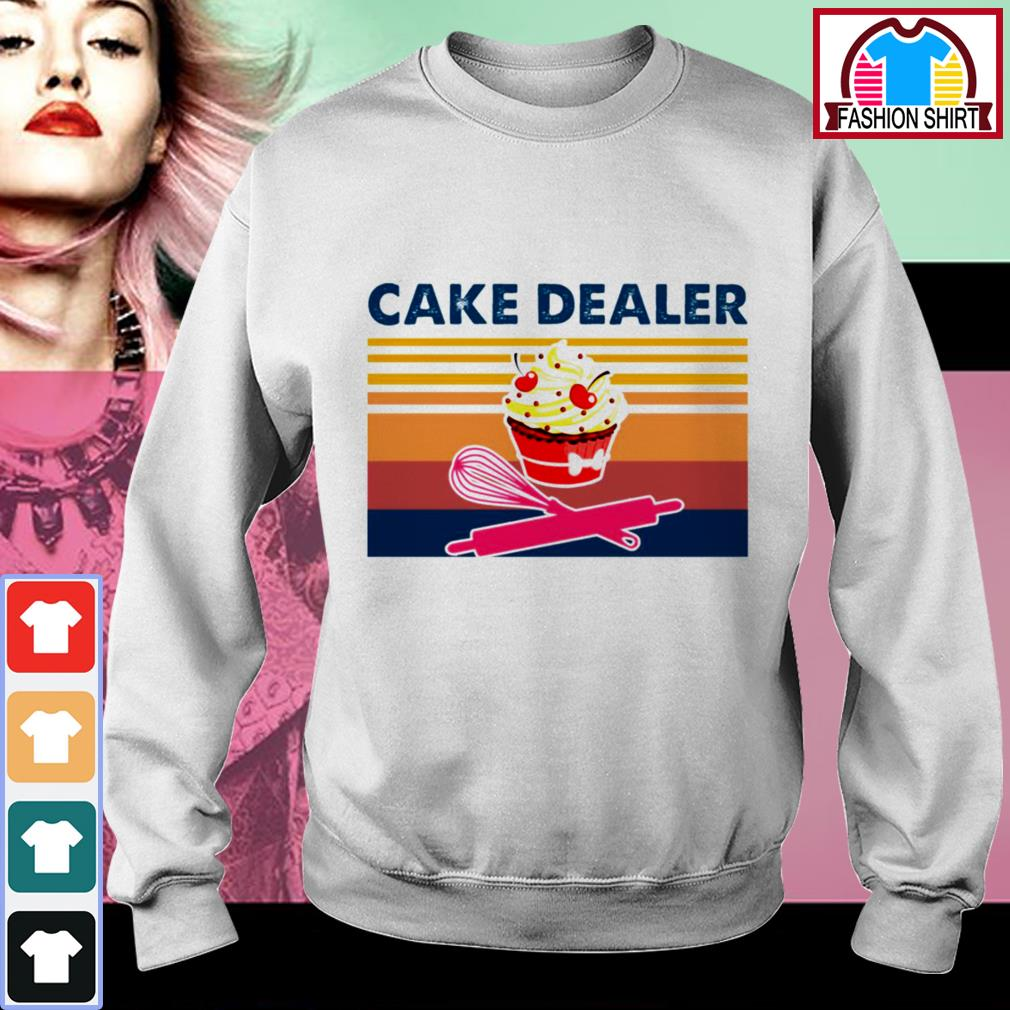 Official Cake dealer vintage shirt by tshirtat store Sweater