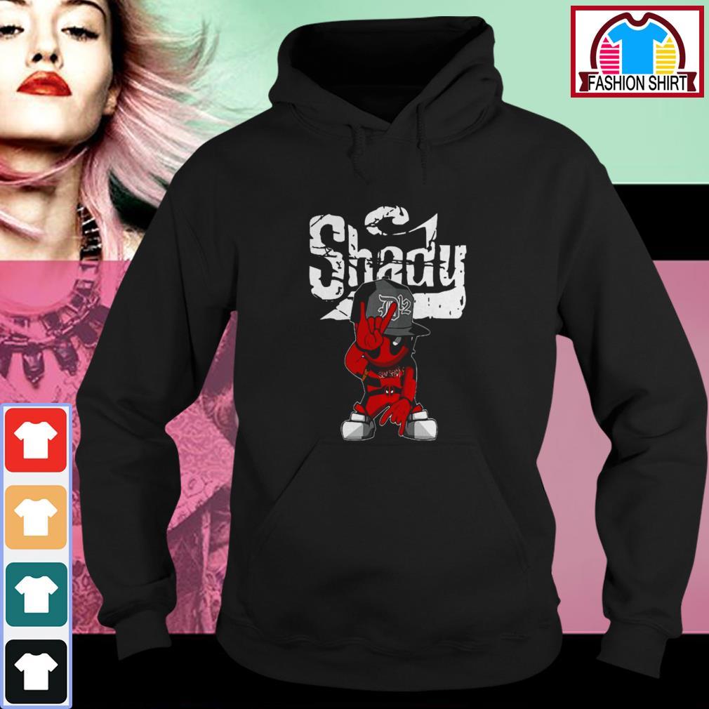 Official Eminem Deadpool Shady shirt by tshirtat store Hoodie