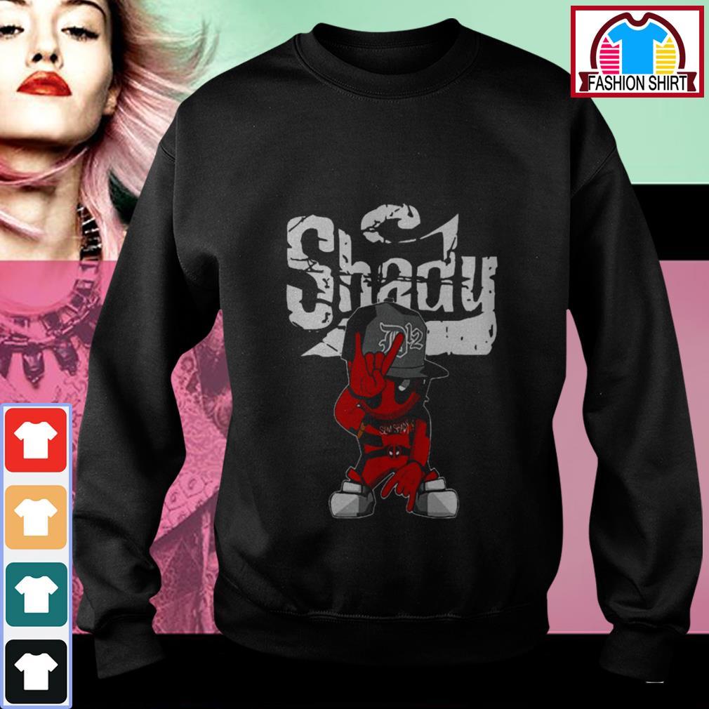 Official Eminem Deadpool Shady shirt by tshirtat store Sweater
