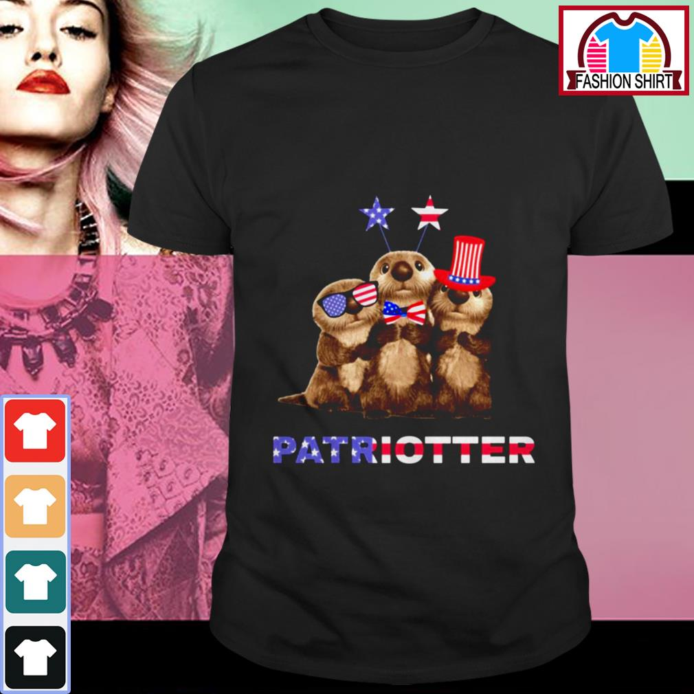 Official Otter Patriotter 4th of July shirt by tshirtat store Shirt