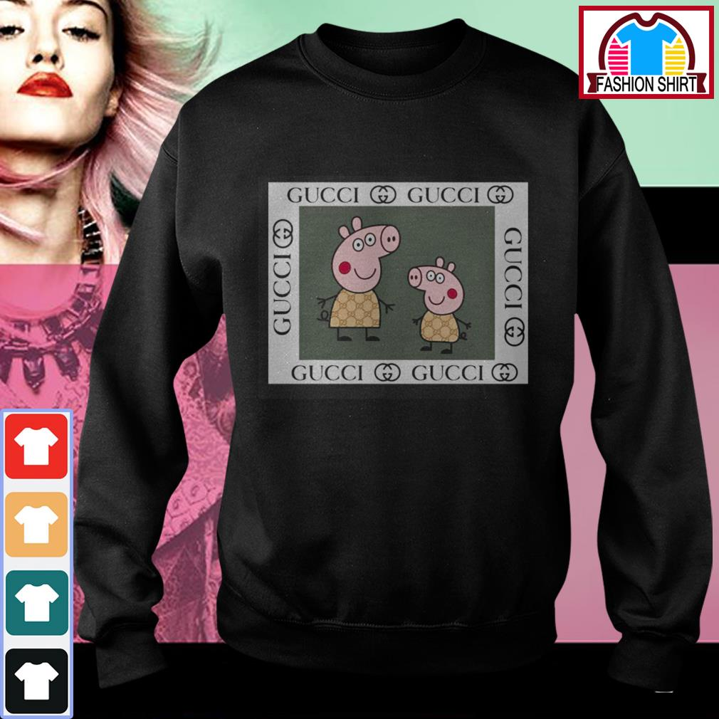 Official Peppa pig Gucci shirt by tshirtat store Sweater