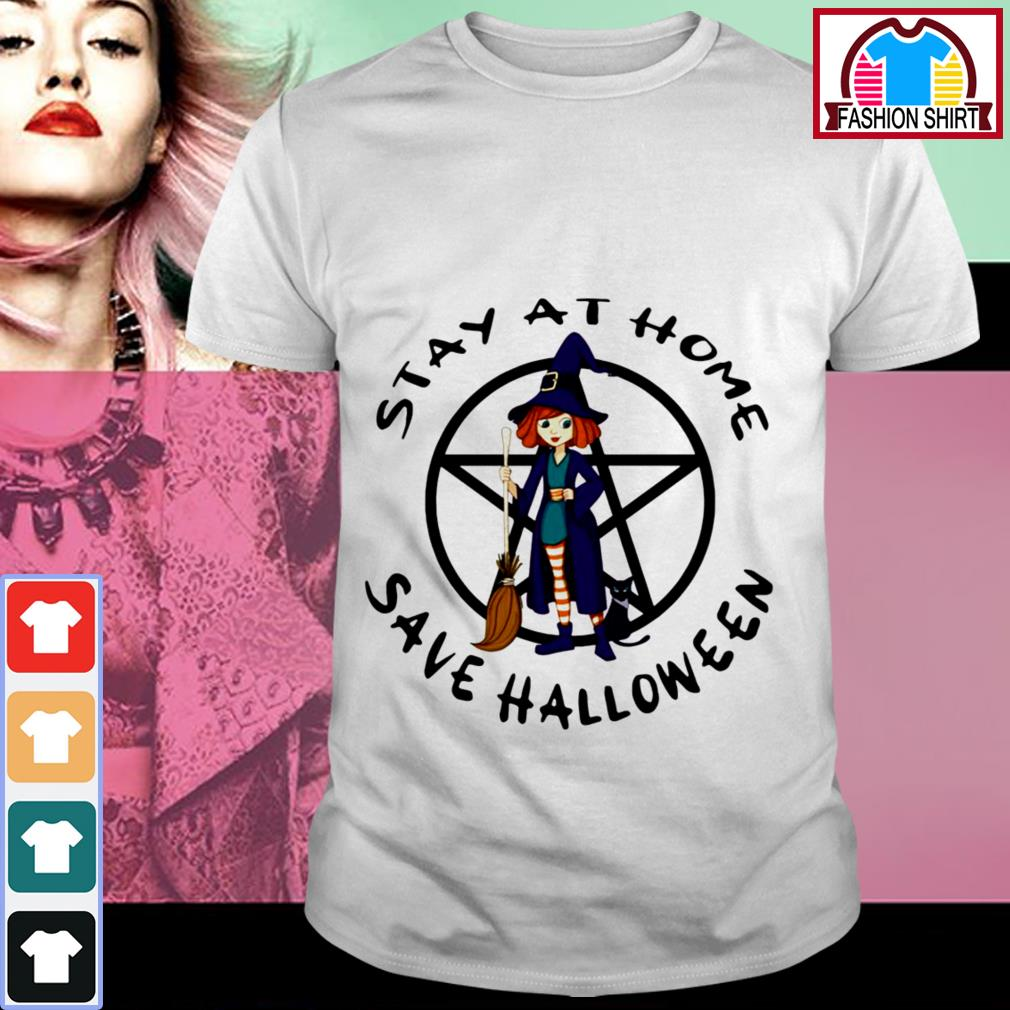 Official Stay at home save Halloween shirt by tshirtat store Shirt