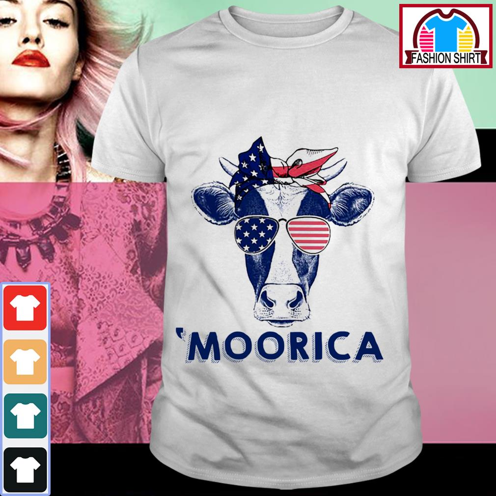 Official 4th of July Cow 'Moorica shirt by tshirtat store Shirt