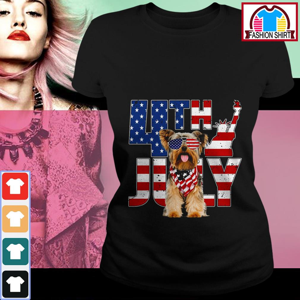 Official 4th of July Yorkshire shirt by tshirtat store Ladies Tee