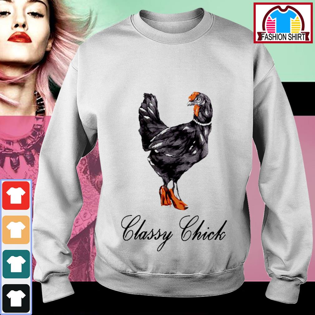 Official Classy chick shirt by tshirtat store Sweater