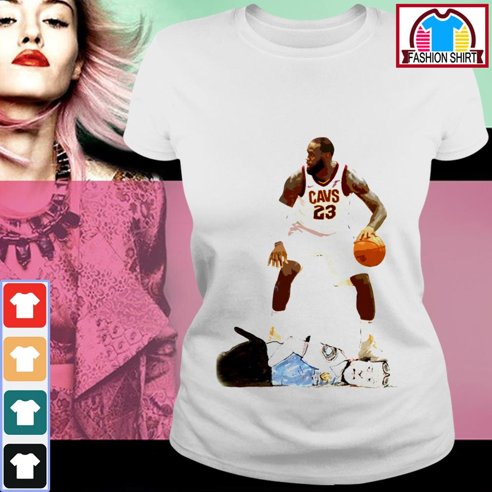 Official I can't breathe James Harden shirt by tshirtat store Ladies Tee