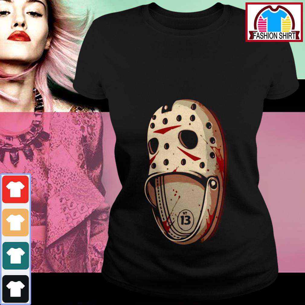 Official Jason Voorhees Crocs shirt by tshirtat store Ladies Tee