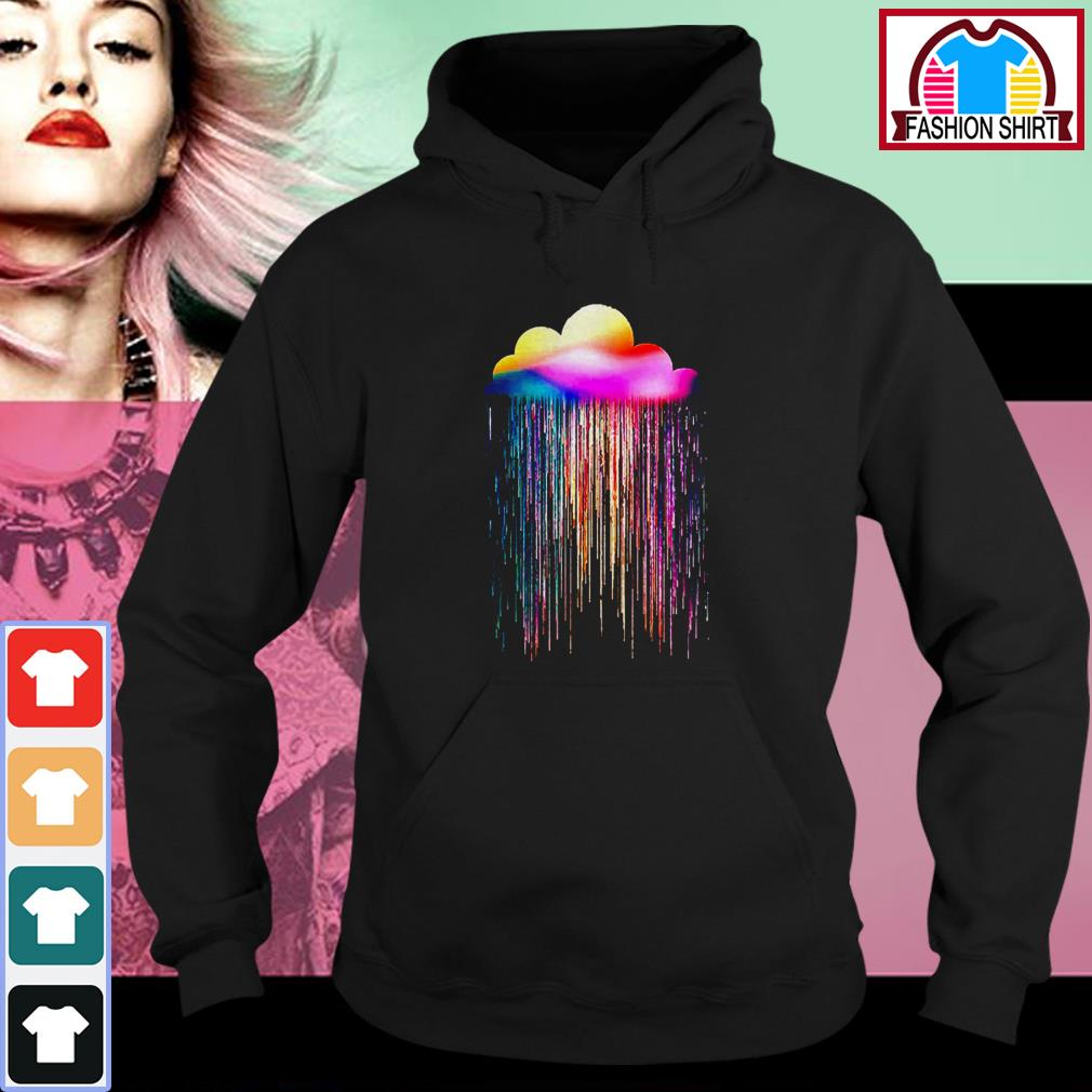 Official Rainbow rain shirt by tshirtat store Hoodie