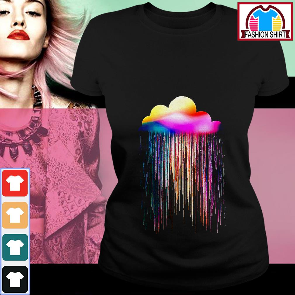 Official Rainbow rain shirt by tshirtat store Ladies Tee