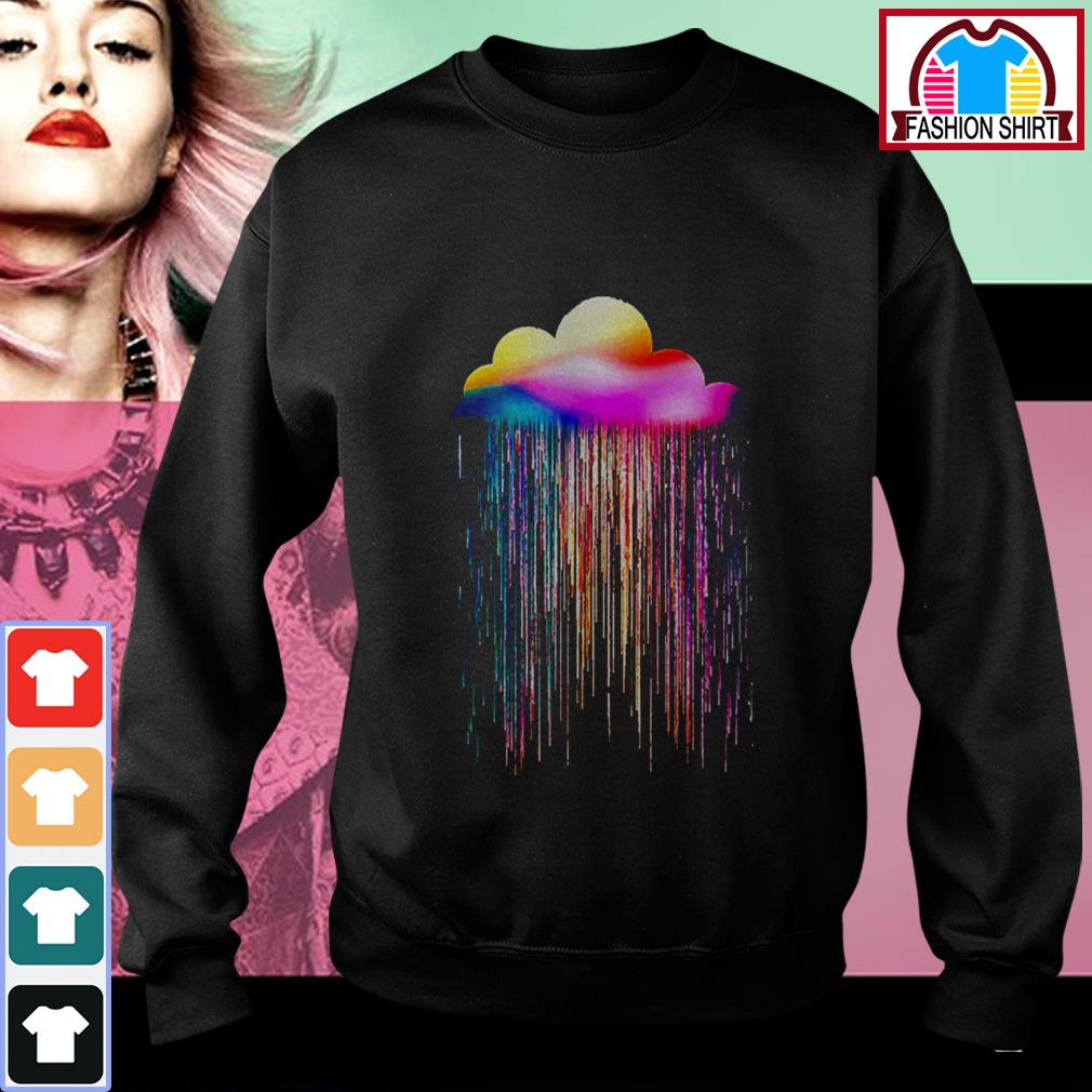 Official Rainbow rain shirt by tshirtat store Sweater
