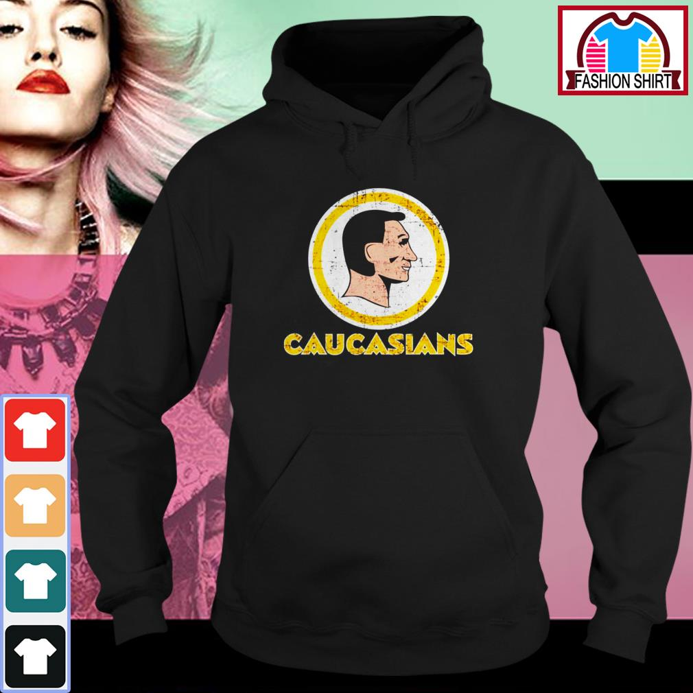 Official Caucasians shirt by tshirtat store Hoodie