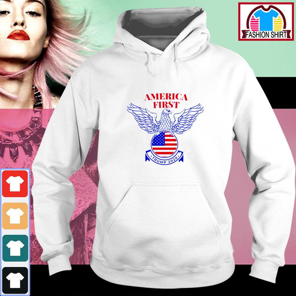 Official Trump Nazi Eagle America First shirt by tshirtat store Hoodie