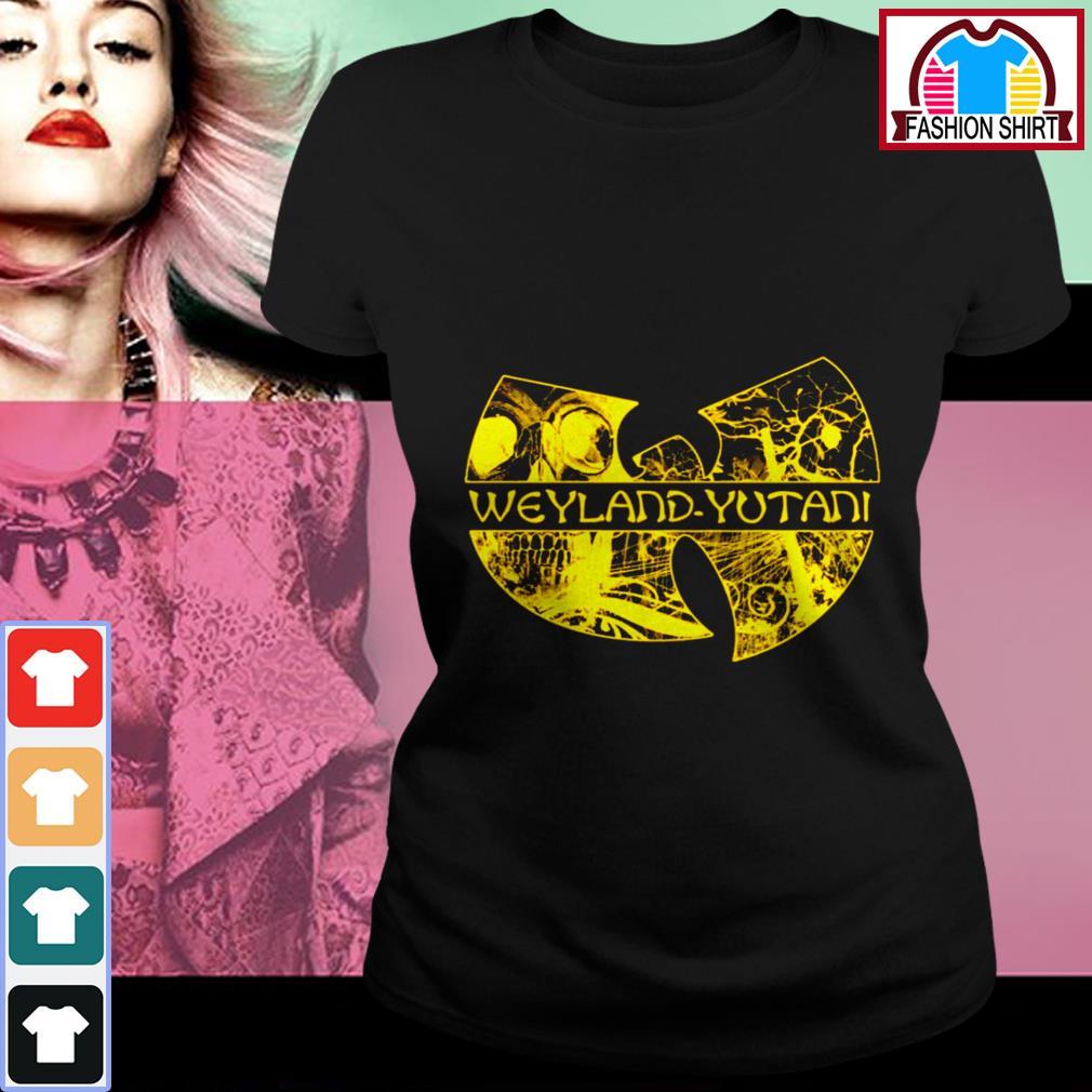 Official Wu Tang Weyland Yutani shirt by tshirtat store Ladies Tee