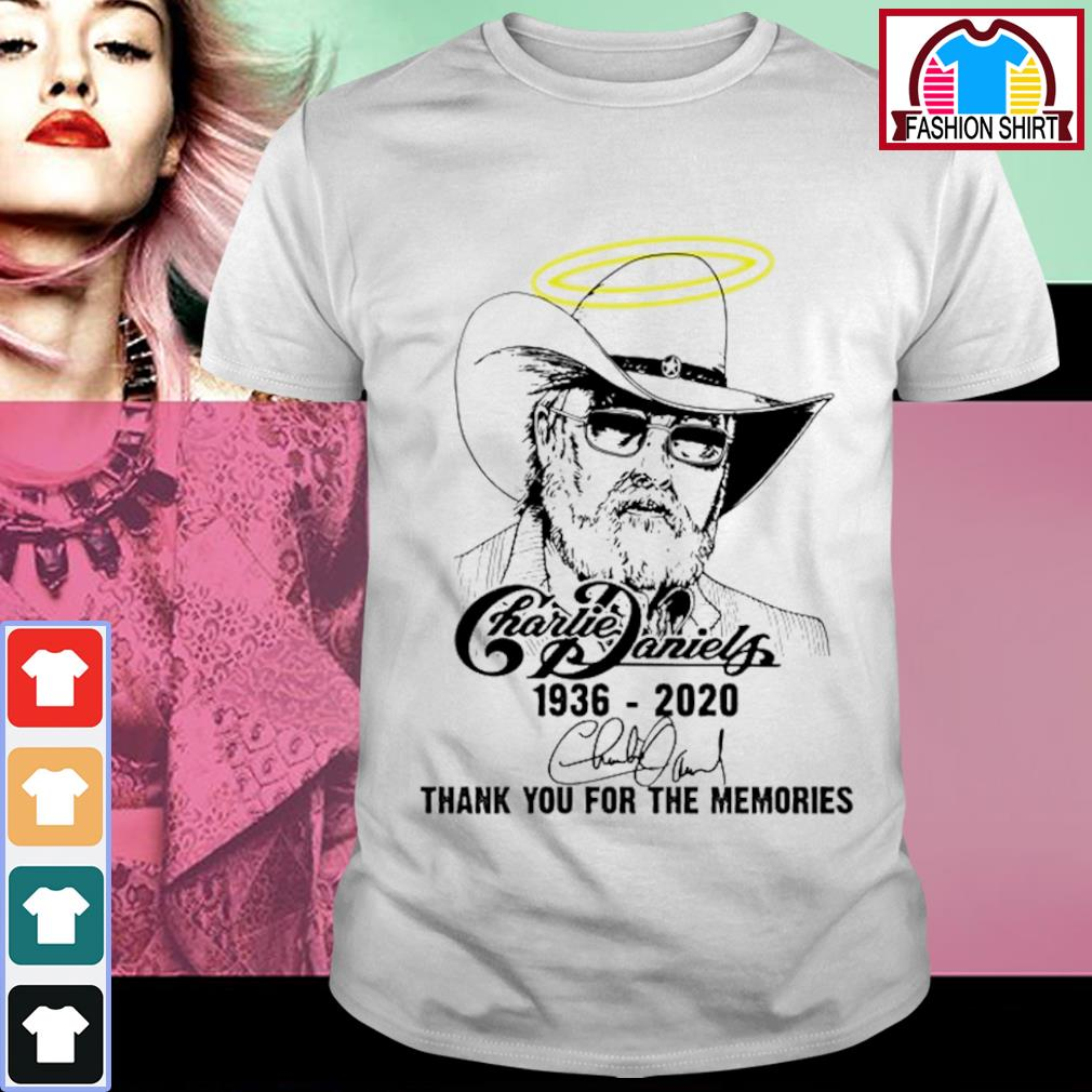 Charlie Daniels 1936 2020 thank you for the memories shirt