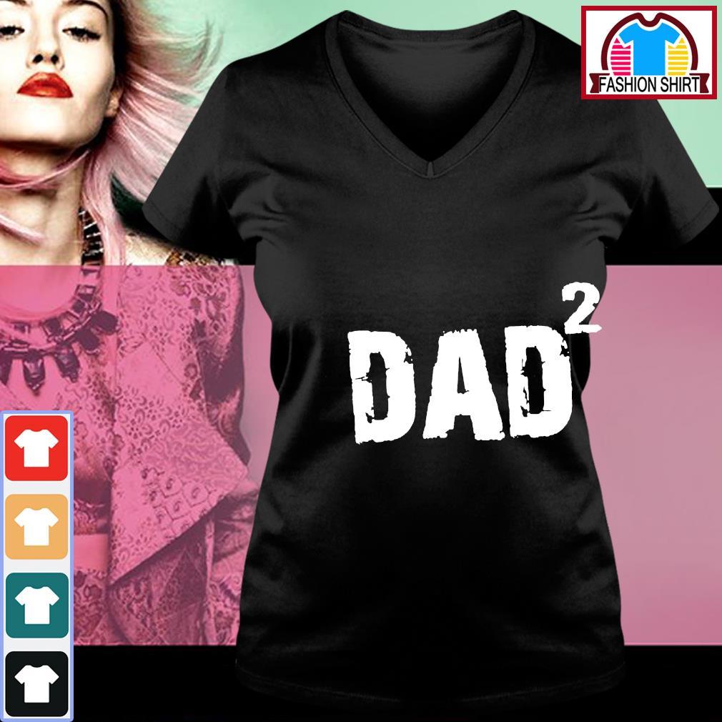 Dad squared s v-neck-t-shirt
