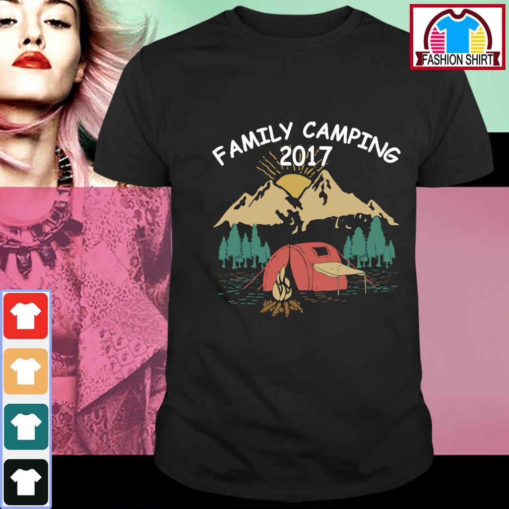 Family camping 2017 vintage shirt