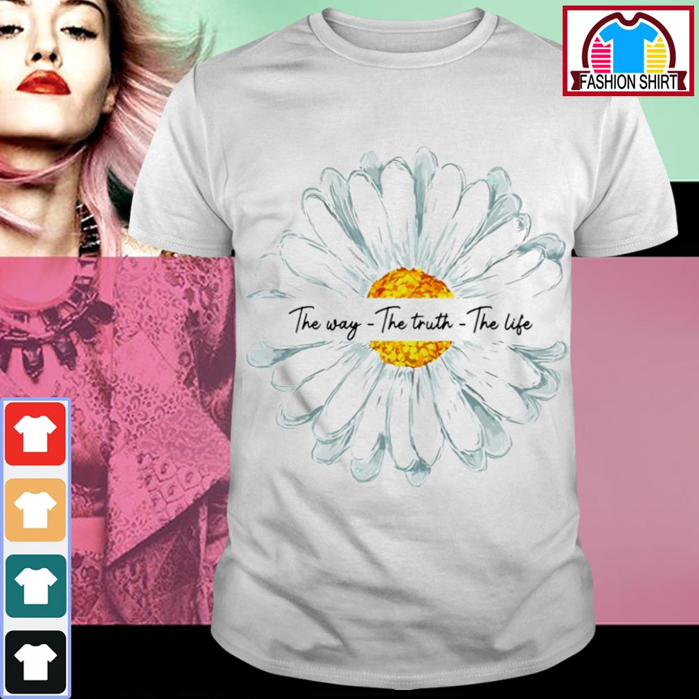 Sunflower Jesus the way the truth the life shirt