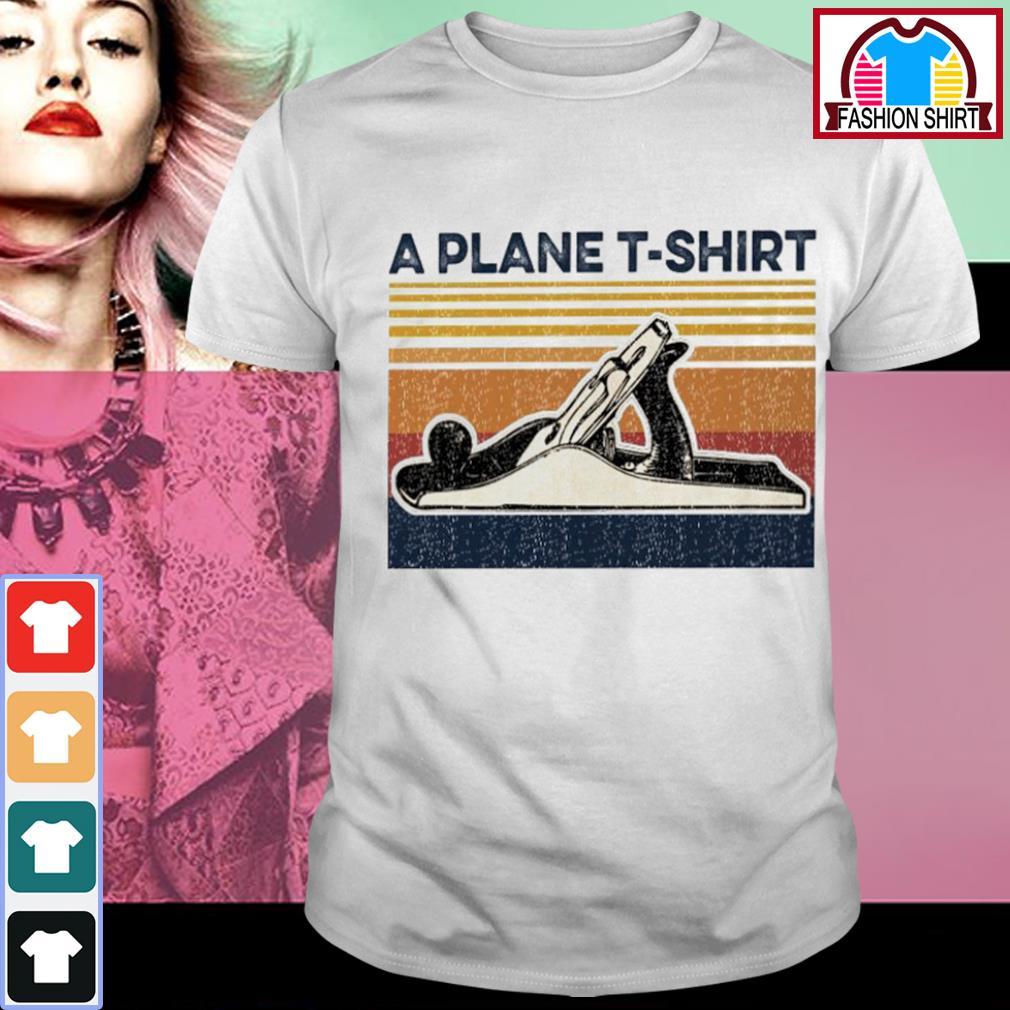 Swimming a plane T-shirt vintage shirt