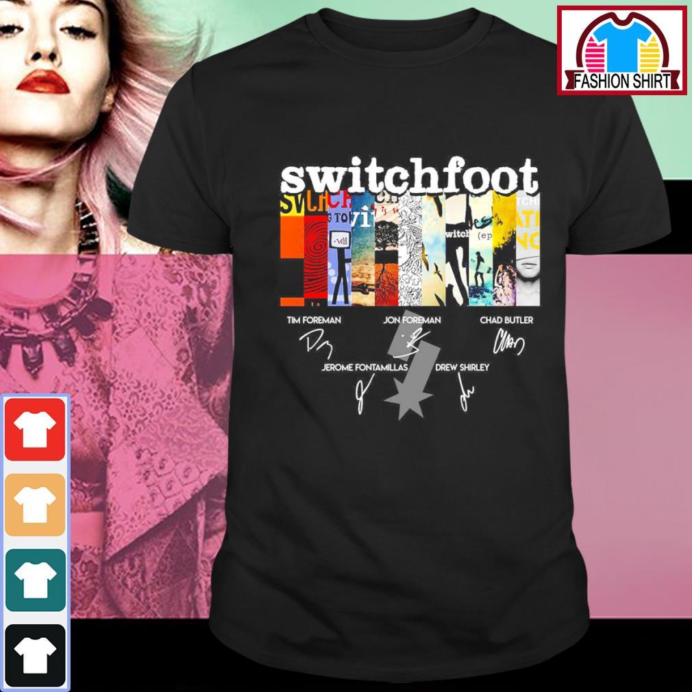 Switchfoot album signatures shirt