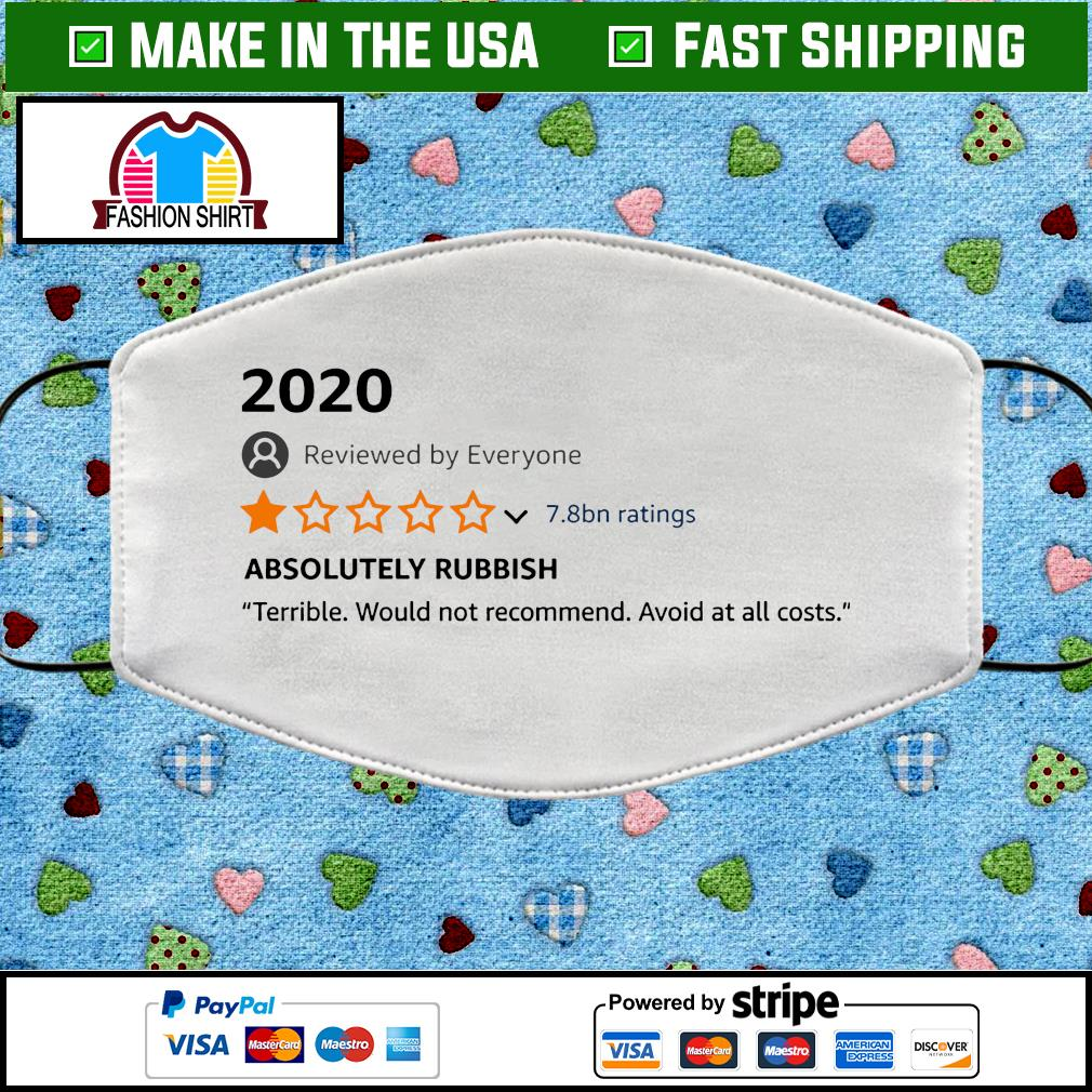 2020 1-star review facemask