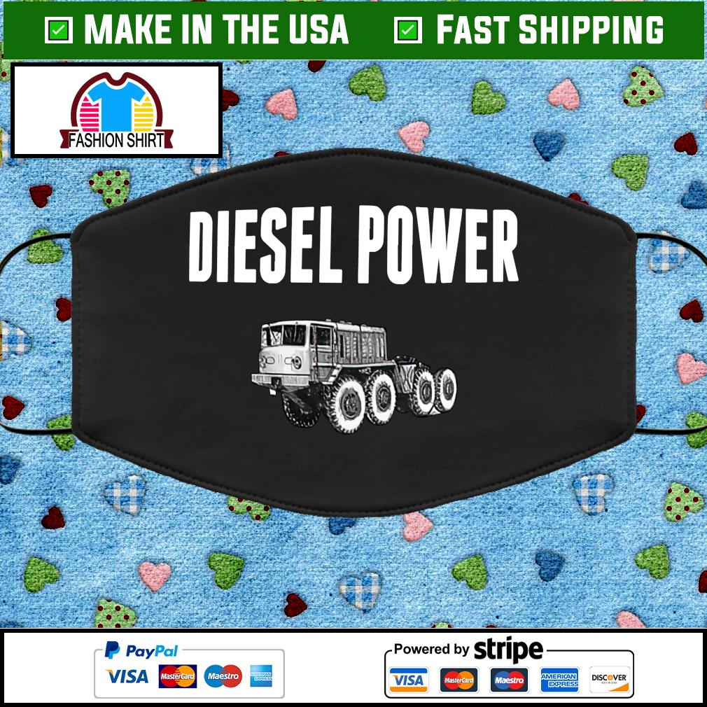 Diesel power face mask