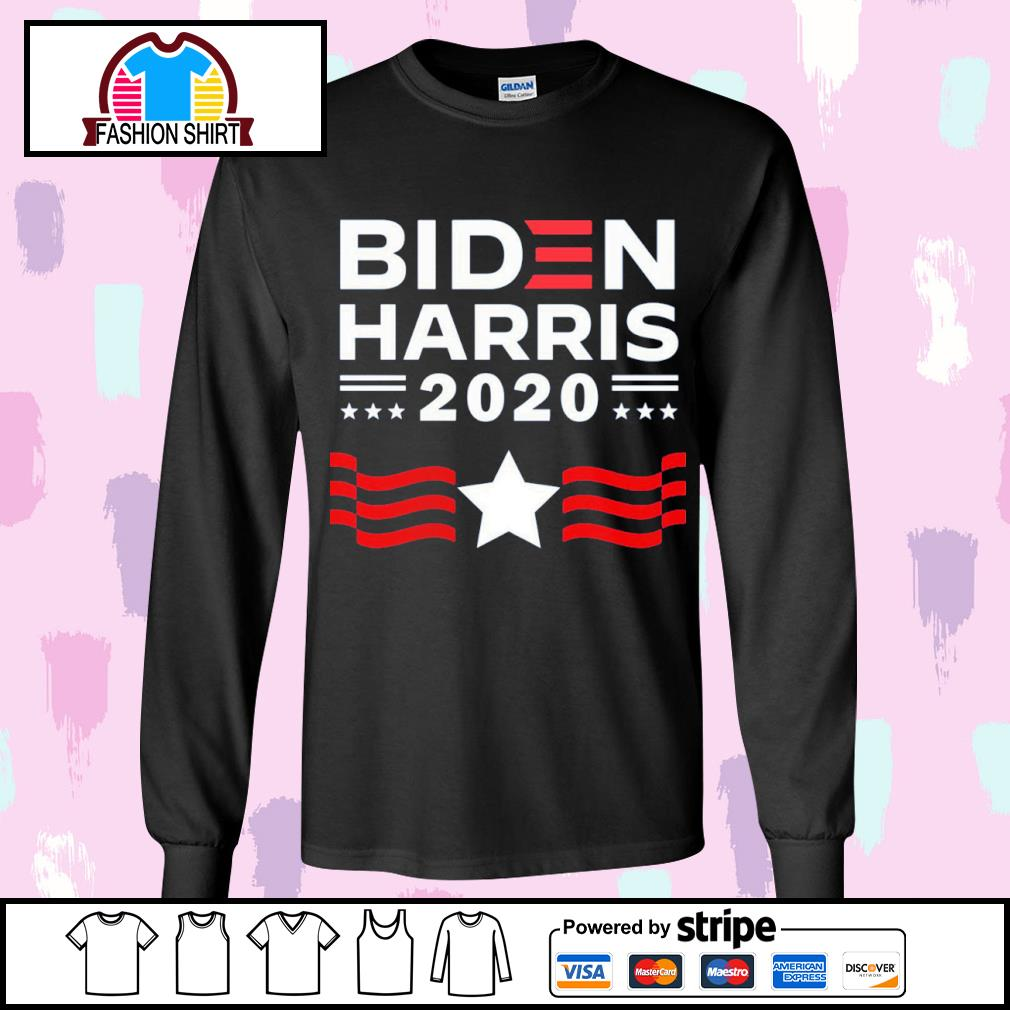 Joe Biden Harris for President 2020 s longsleeve-tee
