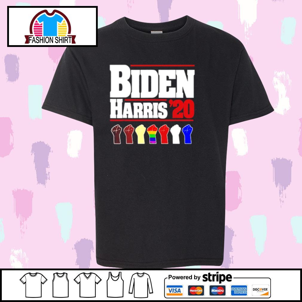 Joe Biden Kamala Harris 2020 Rainbow Gay Pride LGBT shirt