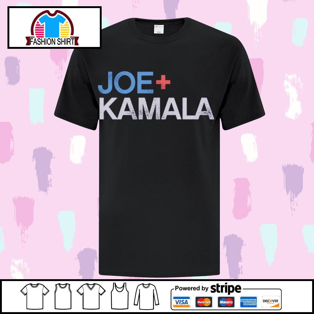 Joe plus Kamala Biden Harris s ladies-tee