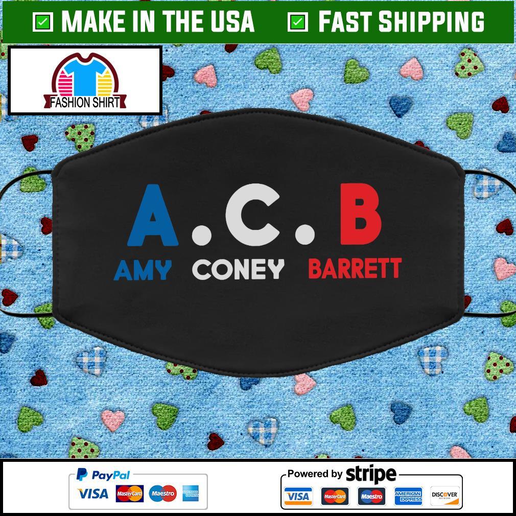 Judge Amy Coney Barrett ACB Cloth Face Mask Washable