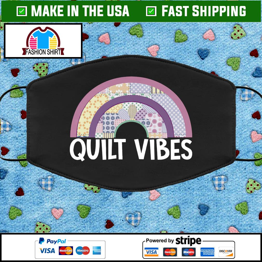 Quilt vibes face mask