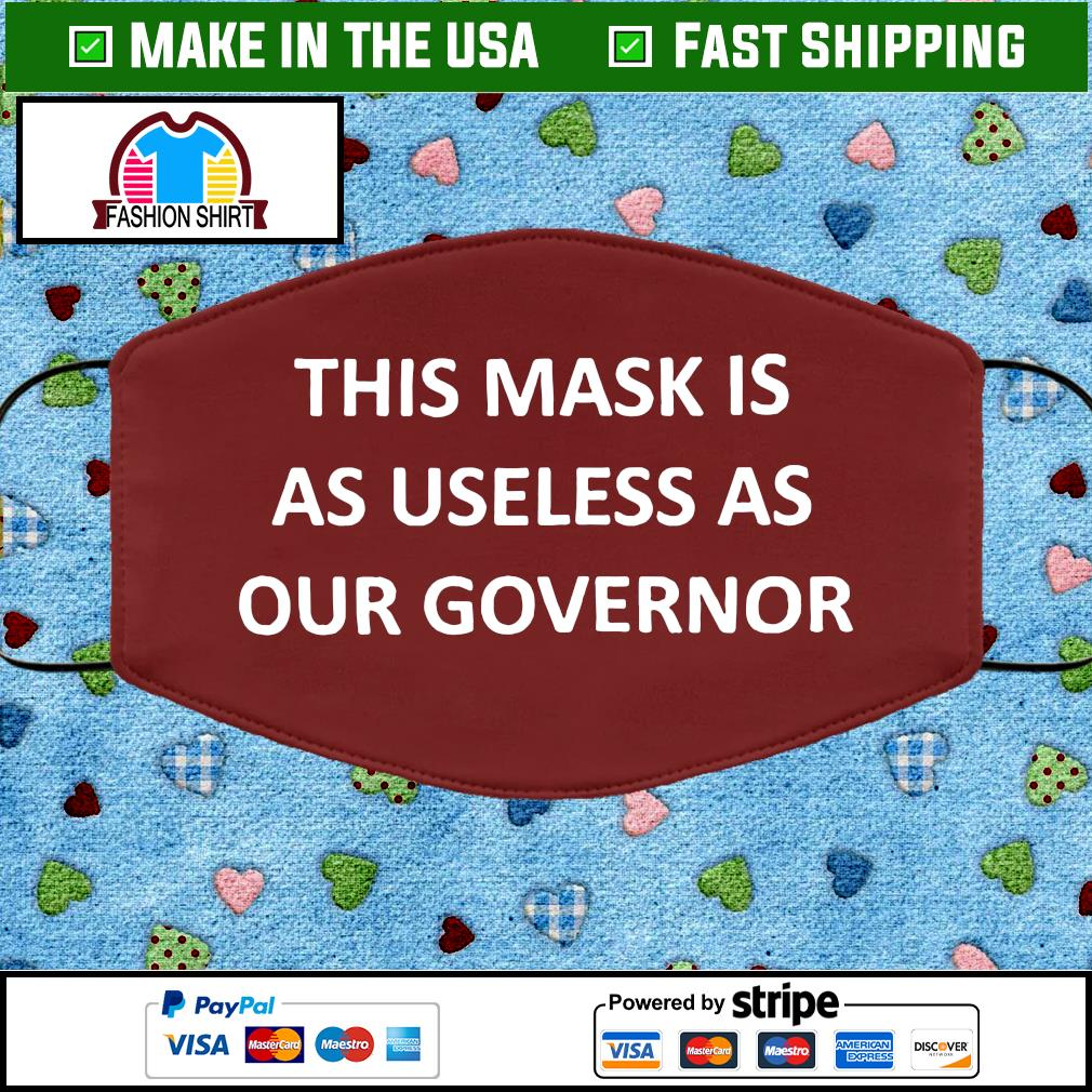 Useless Governor Face Mask brown