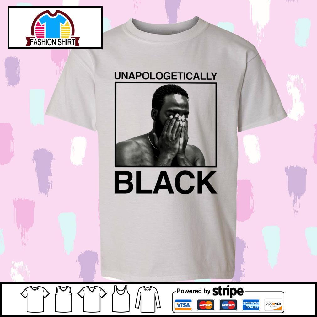 Black man unapologetically black shirt