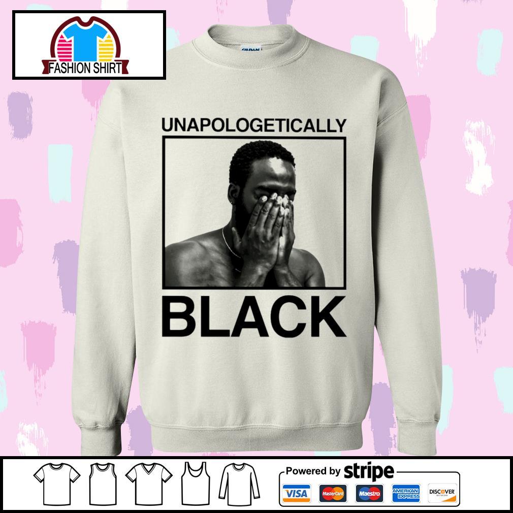 Black man unapologetically black s sweater
