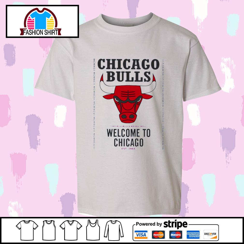 Chicago Bulls basketball welcome to Chicago est 1966 shirt